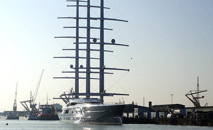Яхта «Черная жемчужина»