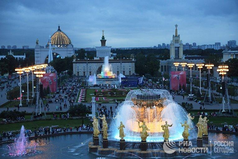 Праздничный концерт в честь 80-летия ВДНХ