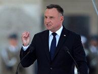 Польский президент Анджей Дуда