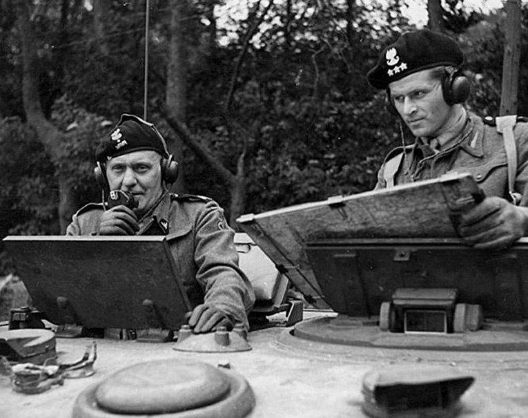 Польский генерал Станислав Мачек в 1944 году