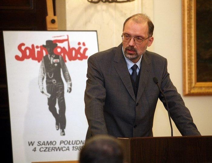 Польский историк и советолог, профессор Ягеллонского университета Анджей Новак