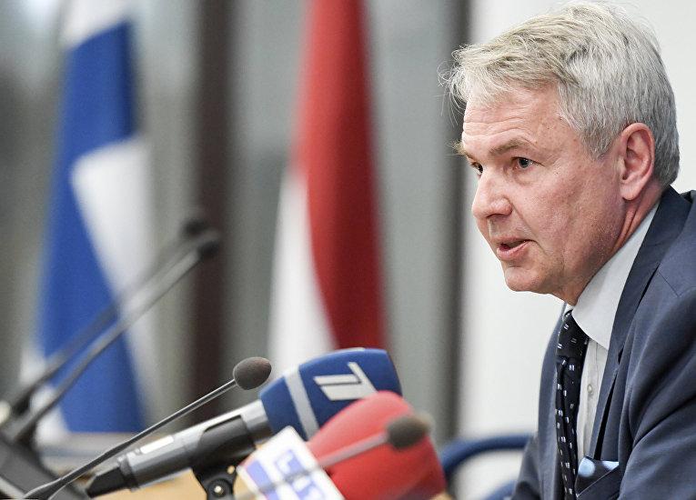 Министр иностранных дел Финляндии Пекка Хаависто