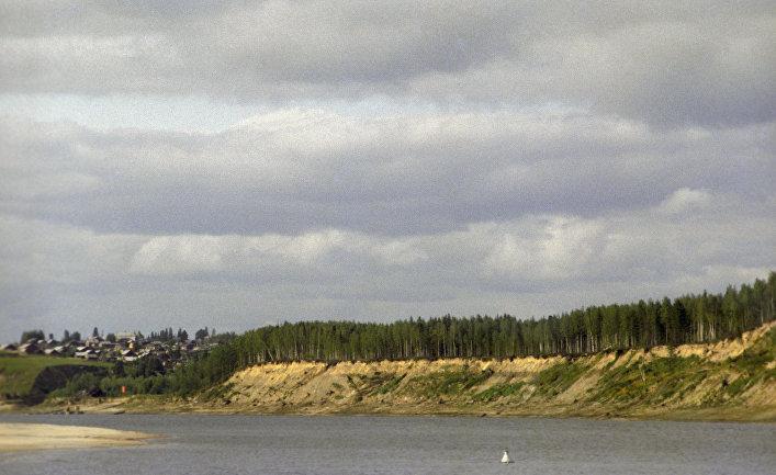 Река Иртыш. Архив
