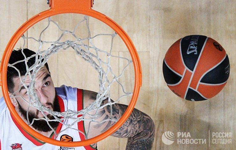 "Баскетбол. Евролига. Матч ""Химки"" - ""Баскония"""