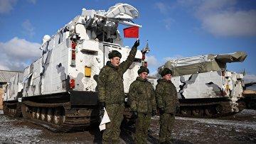 Передача первых арктических ЗРК «Тор-М2ДТ» на вооружение Северного флота