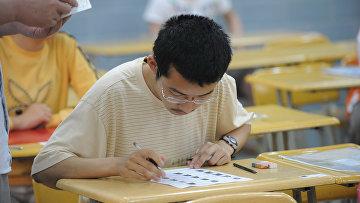 Китайские студенты в Хэфэе