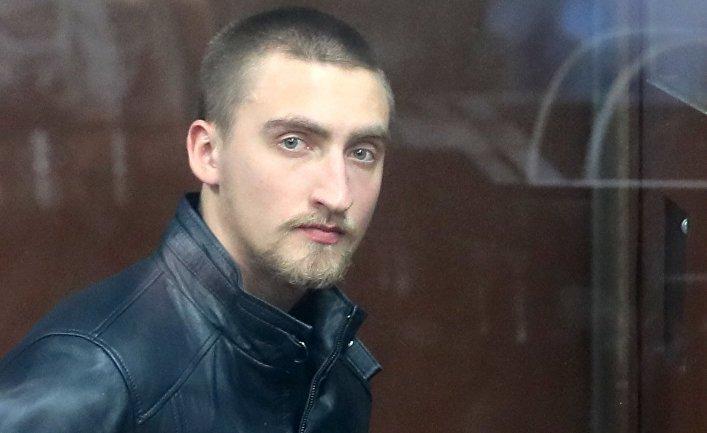 Оглашение приговора П. Устинову