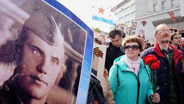 """Акция """"Бессмертный полк"""" в регионах России"""