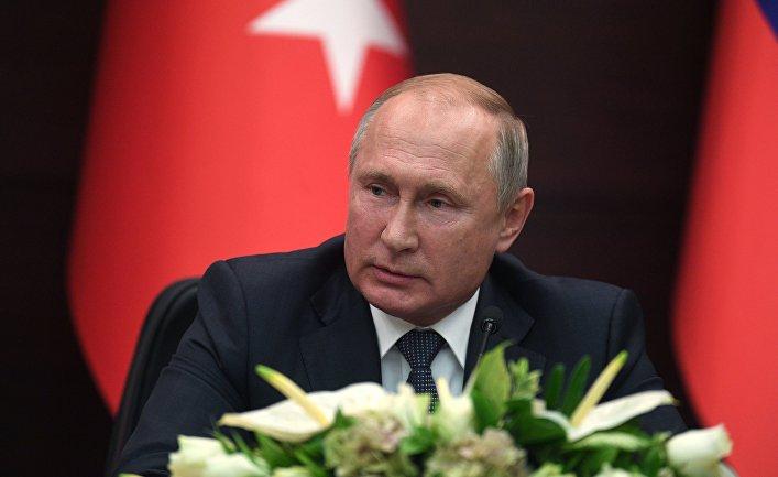 Рабочий визит президента РФ В. Путина в Турцию, Анкара