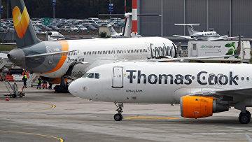 Airbus A320 авиакомпании Thomas Cook Airlines