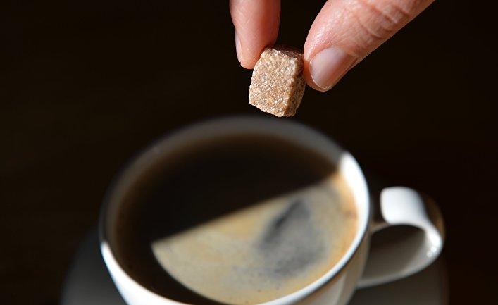 Сахар в кофе