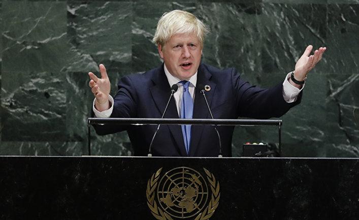 Премьер-министр Великобритании Борис Джонсон