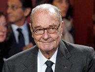 Бывший Президент Франции Жак Ширак