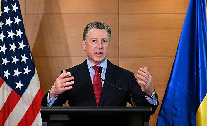 Специальный представитель Государственного департамента США по вопросам Украины Курт Волкер