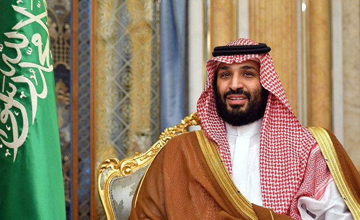 Наследный принц Саудовской Аравии Мухаммед бен Салман