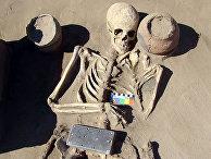 В Туве откопали «женский айфон» возрастом 2100 лет