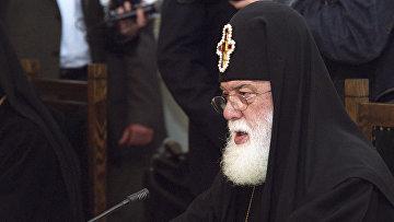 Католикос-Патриарх всея Грузии Илия II, архивное фото
