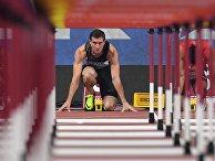 Бегун Сергей Шубенков на ЧМ по легкой атлетике в Дохе, Катар