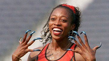 Американская спортсменка Гейл Деверс