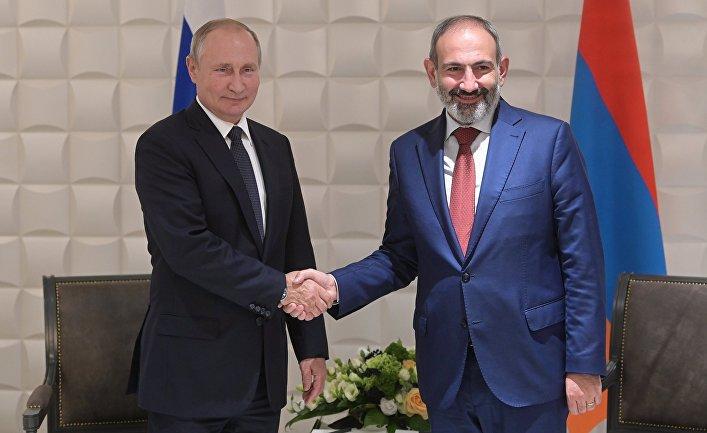Рабочий визит президента РФ В. Путина в Армению