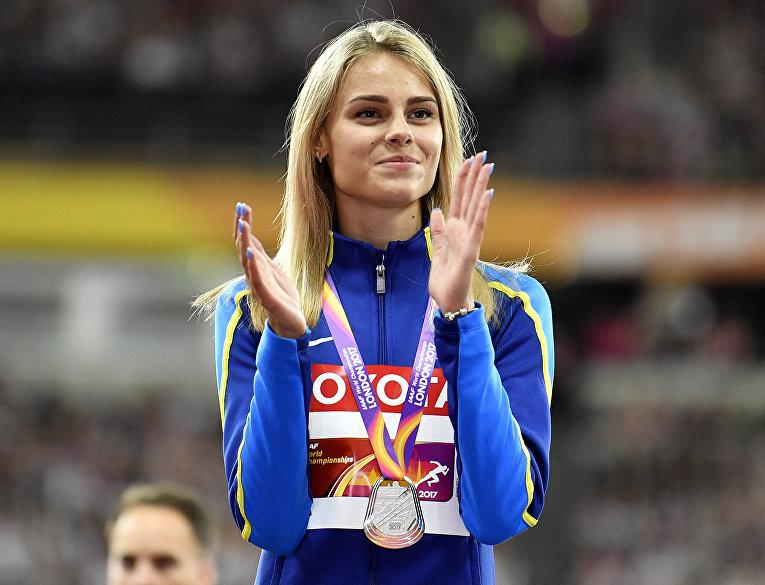 Украинская прыгунья в высоту Юлия Левченко