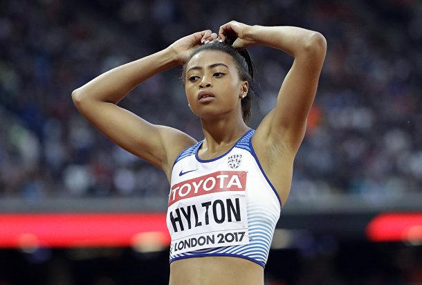 Британская легкоатлетка, специализирующаяся в спринтерском беге Шеннон Хилтон