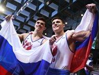 Спортивная гимнастика. Чемпионат Европы. Мужчины. Многоборье