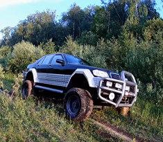600-ый Мерседес на базе ГАЗ-66. Тест драйв!