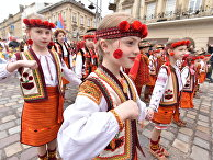 Карнавальное шествие в честь Дня города во Львове