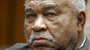 Серийный убийца Сэмюэл Литтл во время суда в Лос-Анджелесе, США