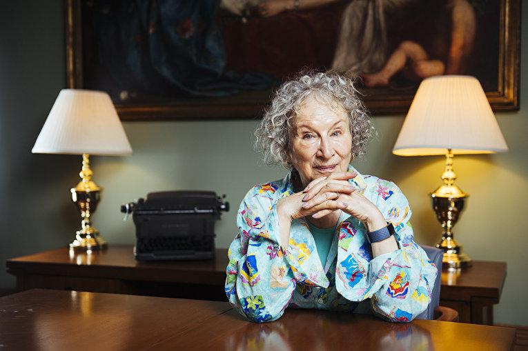 Канадская писательница Маргарет Этвуд