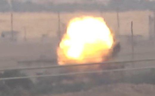 Курды подорвали «Леопард-2»