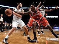 "Баскетбол. НБА. Матч ""Бруклин Нетс"" - ""Милуоки Бакс"""