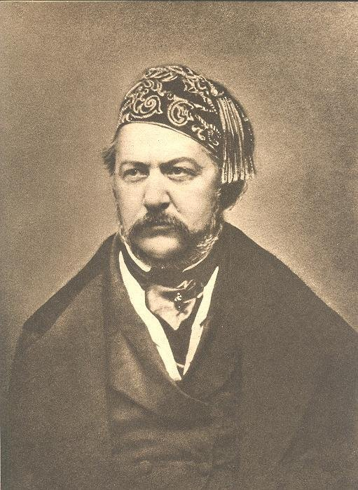 Композитор Михаил Глинка, 1850-е годы