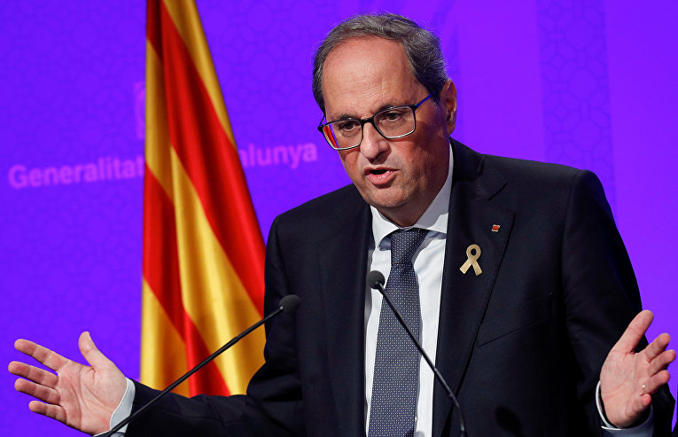 Президент Женералитета Каталонии Ким Торра