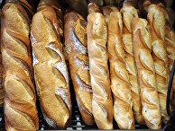 Хлеб в пекарне