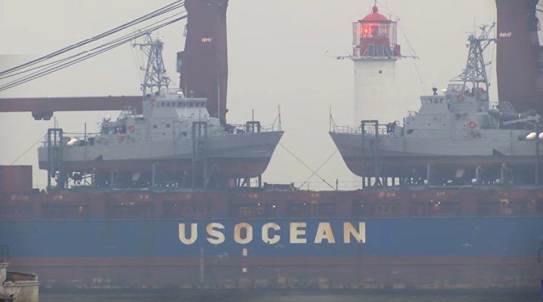 На Украину доставили американские военные катера