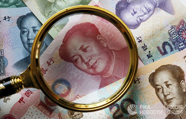 Китайские банкноты