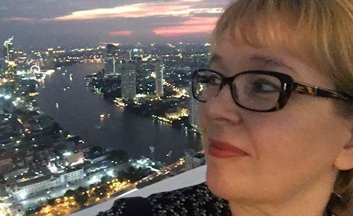 Финская журналистка Арья Паананен