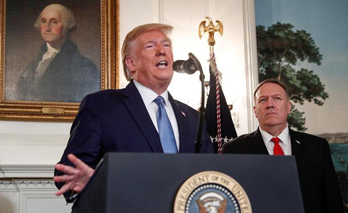 Президент США Дональд Трамп выступает с заявлением по Сирии в Вашингтоне