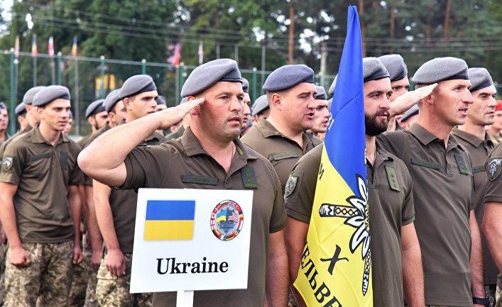 Международные военные учения Rapid Trident-2019 во Львовской области
