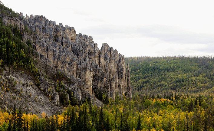 Национальный природный парк «Ленские столбы» в Якутии