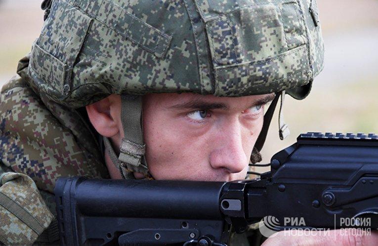 Учения гвардейской десантно-штурмовой бригады в Приморье