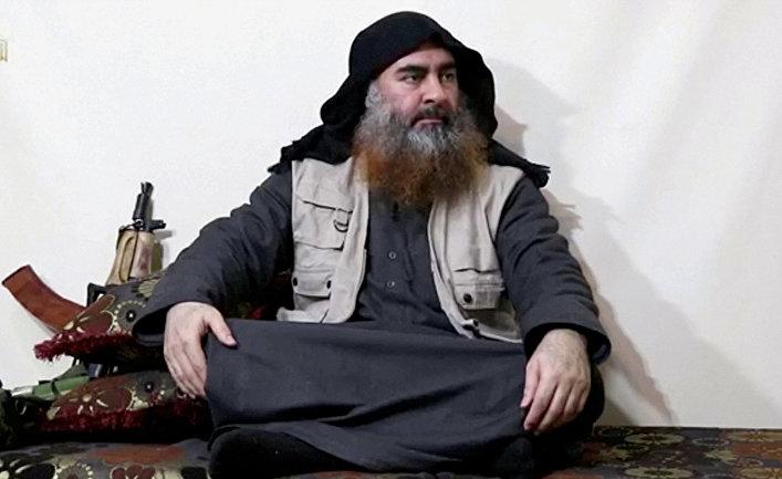 Иракский террорист Абу Бакра аль-Багдади