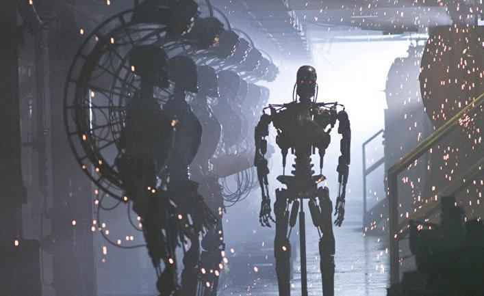 Кадр из фильма «Терминатор: Да придёт спаситель»