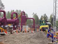 Строительство финско-эстонского газопровода Balticconnector