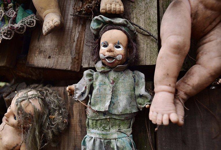Остров кукол в Сочимилько, Мехико