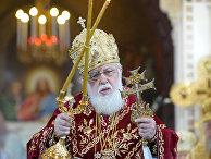 Богослужение по случаю 65-летия Святейшего Патриарха Кирилла