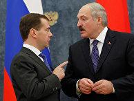 Заседание Высшего госсовета Союзного государства РФ и Белоруссии