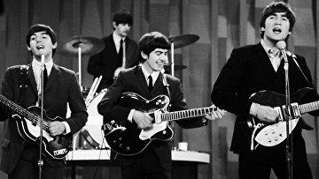 Выступление The Beatles в Нью-Йорке в 1964 году